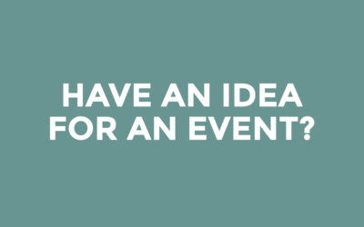Have an idea for an event?
